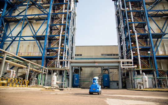 火电厂机器人智能巡检解决方案