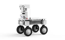 平台型轮式智能巡检机器人