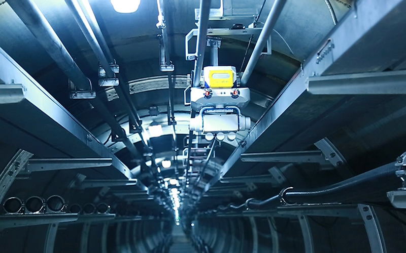 """温州市上田220KV电力""""上改下""""地下管廊"""