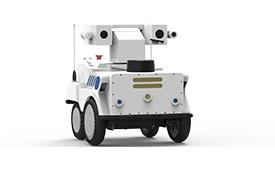 小型轮式智能巡检机器人